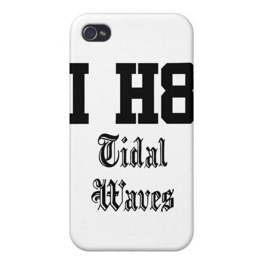 tidal waves iPhone 4/4S case