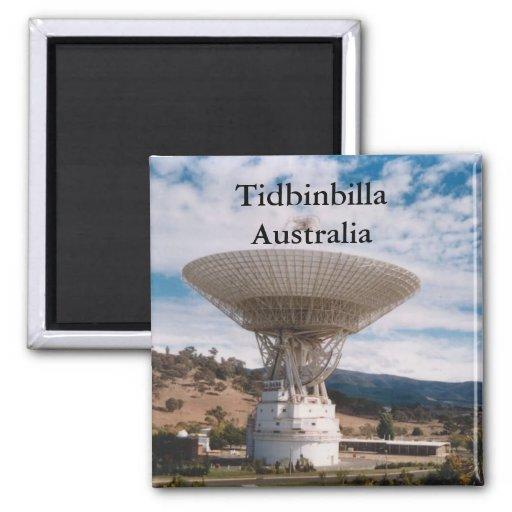 Tidbinbill australia magnet