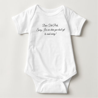 Tide pods baby bodysuit