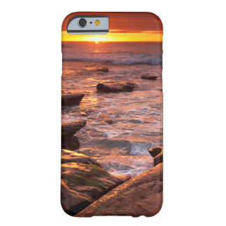 Tide pools at sunset, California Barely There iPhone 6 Case