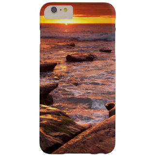 Tide pools at sunset, California Barely There iPhone 6 Plus Case