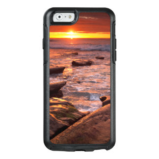 Tide pools at sunset, California OtterBox iPhone 6/6s Case