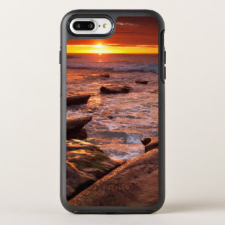 Tide pools at sunset, California OtterBox Symmetry iPhone 7 Plus Case
