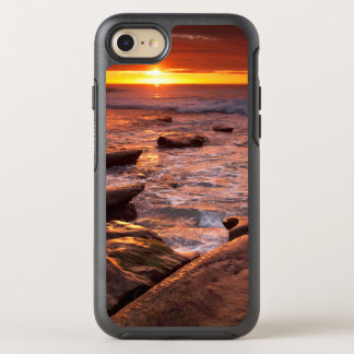 Tide pools at sunset, California OtterBox Symmetry iPhone 8/7 Case