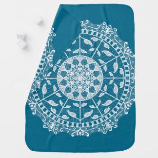 Tidepool Mandala Baby Blanket