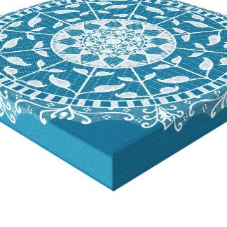 Tidepool Mandala Canvas Print