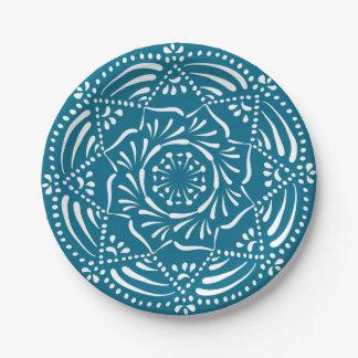 Tidepool Mandala Paper Plate