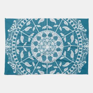 Tidepool Mandala Tea Towel