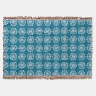 Tidepool Mandala Throw Blanket