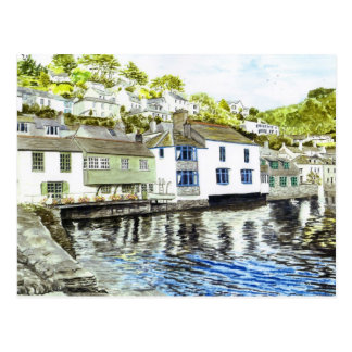 'Tide's In (Polperro)' Postcard