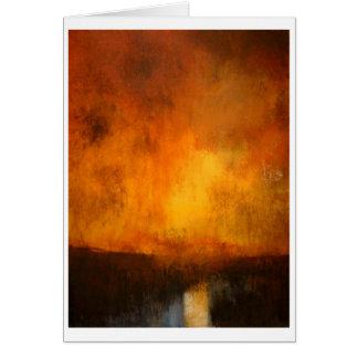 Tidewater Marsh_24x18 Gouache  - C... - Customized Card