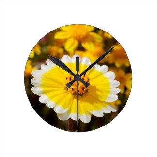 Tidy Tip Wildflowers Clock