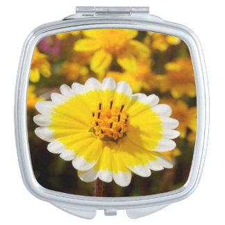 Tidy Tip Wildflowers Mirror For Makeup