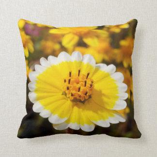 Tidy Tip Wildflowers Throw Pillow