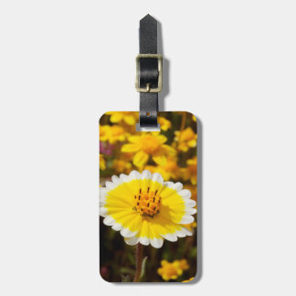 Tidy Tip Wildflowers Travel Bag Tag