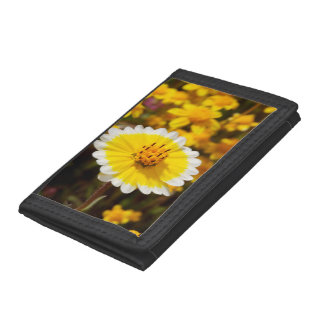 Tidy Tip Wildflowers Tri-fold Wallets