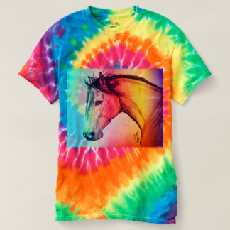 Tie Die Mustang T-Shirt