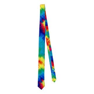 Tie Died Psychedelic Tie