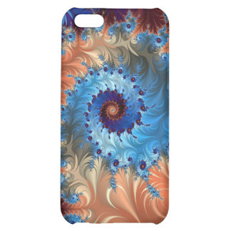 Tie Dye Abstract Swirls - Digital Art iPhone 5C Covers