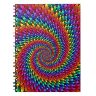 Tie Dye Basic Notebook