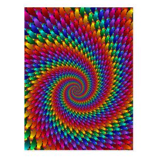 Tie Dye Basic Postcard