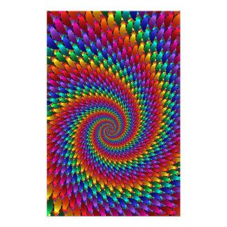 Tie Dye Basic Stationery