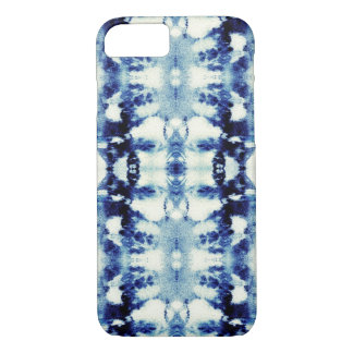 Tie Dye Blues iPhone 7 Case