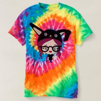 Tie Dye Bunny Lady T-Shirt