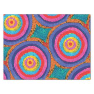 Tie Dye Circles Tissue Paper