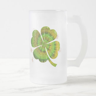 Tie Dye Clover Coffee Mug