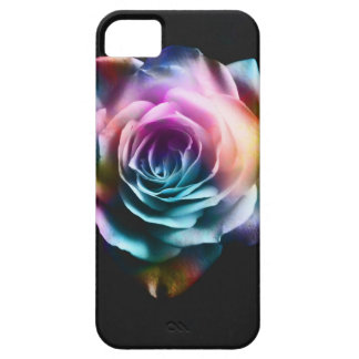 Tie Dye Colorful Rose Case For The iPhone 5