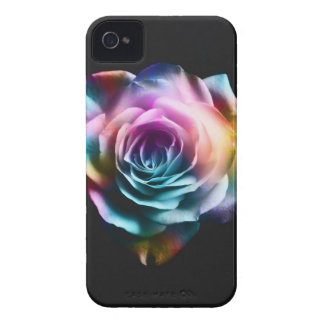 Tie Dye Colorful Rose iPhone 4 Case-Mate Cases