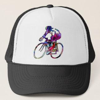 Tie Dye Cyclist Trucker Hat