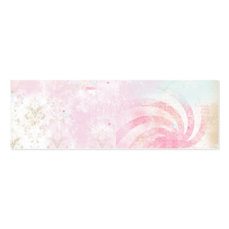 Tie Dye Damask Pack Of Skinny Business Cards