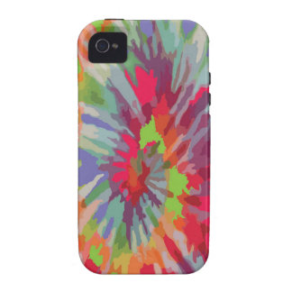 Tie Dye Design Case-Mate iPhone 4 Covers