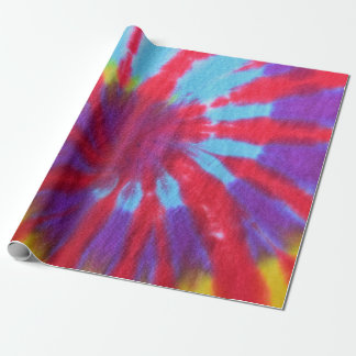Tie Dye Design Wrapping Paper