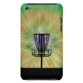 Tie Dye Disc Golf Basket iPod Touch Cases
