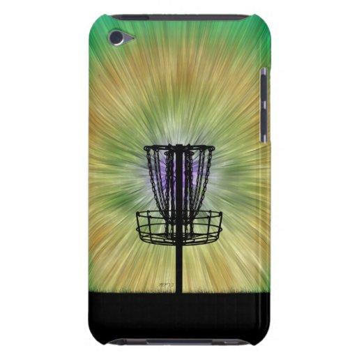 Tie Dye Disc Golf Basket iPod Touch Case