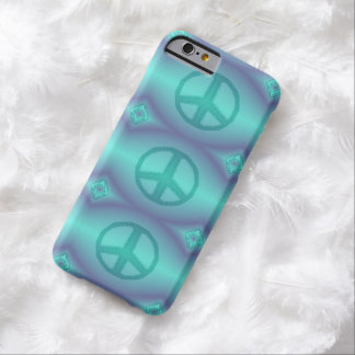 Tie Dye Effect Peace Sign iPhone 6 Case