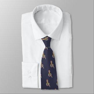 Tie-Dye Leggy Clef Tie