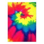 Tie Dye Look Invitation 13 Cm X 18 Cm Invitation Card