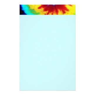 Tie Dye Look Stationary Stationery