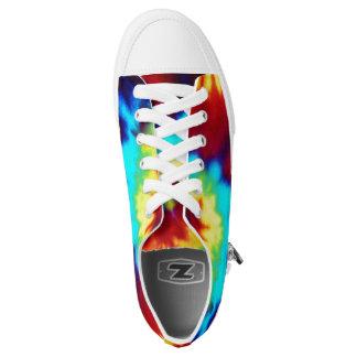 Tie Dye Look Zipz sneakers low top