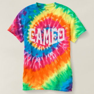 Tie-Dye Men's T-shirt with Cameo logo