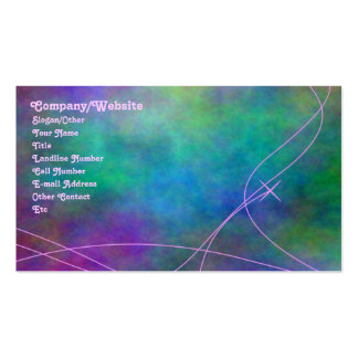 Tie-Dye Pack Of Standard Business Cards