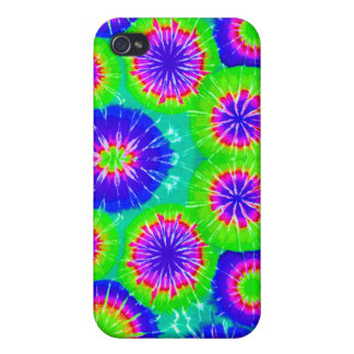 Tie Dye Pattern 5 iPhone 4 Covers