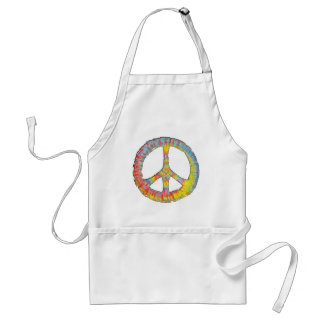 Tie-Dye Peace 713 Aprons
