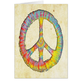 Tie-Dye Peace 713 Greeting Cards