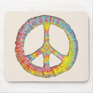 Tie-Dye Peace 713 Mousepad