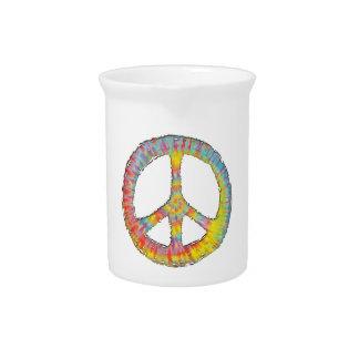 Tie-Dye Peace 713 Pitcher
